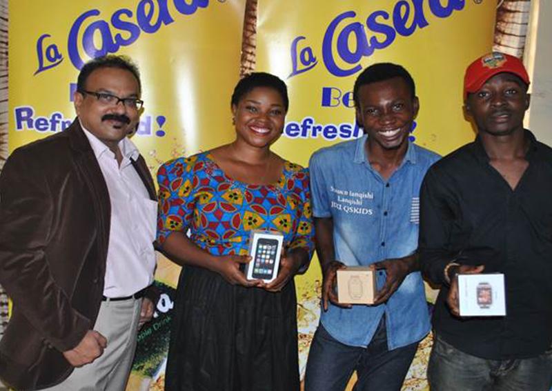 More Winners Emerge in La Casera Birthday Wheel and Apple Quiz Radio Show