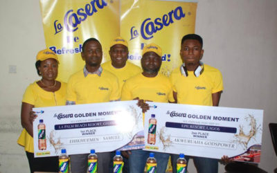 La Casera Golden Moment Campaign Winners Emerge