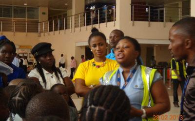 La Casera CSR Activity At Murtala Mohammed Airport 2