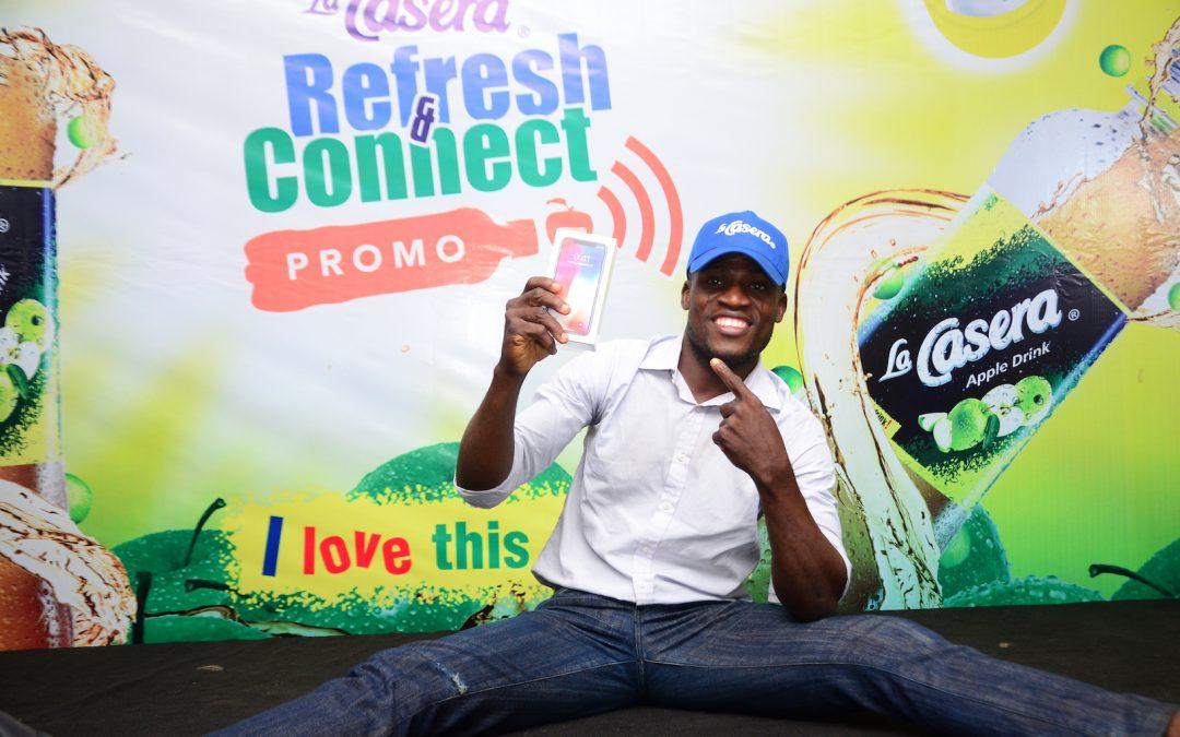 La Casera Excites Consumers in Ibadan as More Winners Emerge in the La Casera 'Refresh & Connect' Promo