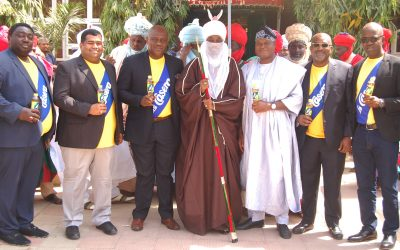 La Casera Pays Courtesy Visit to the Emir of Kano with Promise of National Growth