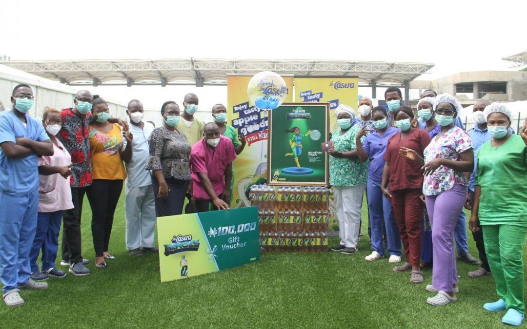La Casera Rewards and Celebrates Covid-19 Frontline Workers